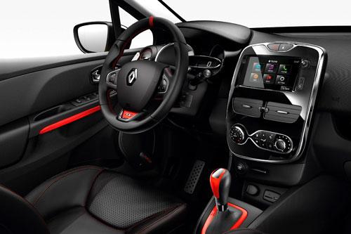 Renault Clio RS (interior)