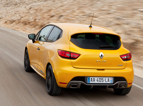 Renault Clio RS (trasera)