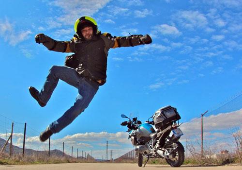 Miquel Silvestre con BMW R 1200 GS (3)