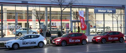 Caravana Motor DyE (4) Seat León