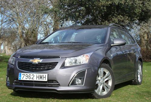 Chevrolet Cruze (frontal)