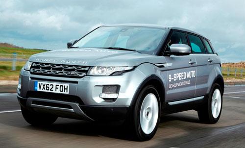 Cambio de 9 velocidades para Land Rover