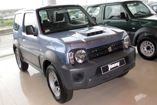 suzuki madrid vende el jimny jx por euros. Black Bedroom Furniture Sets. Home Design Ideas