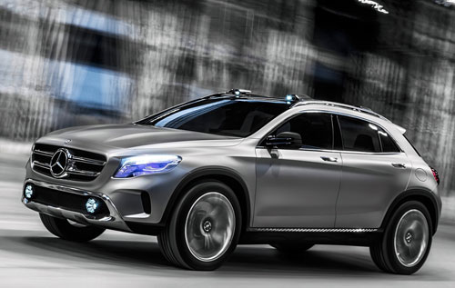 Mercedes-Benz GLA (frontal)