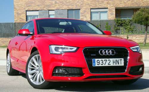 Audi A5 2.0 TDI S Tronic Quattro (frontal)