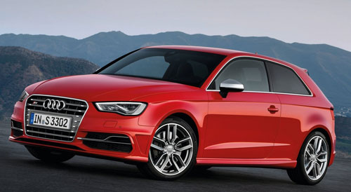 Audi S3 (frontal)