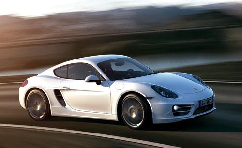 Porsche Cayman (lateral)