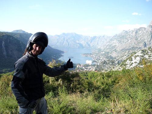 Destino Grecia en moto