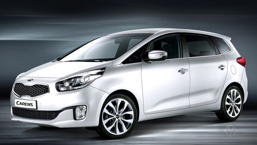 Kia Carens (frontal)