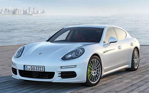 Porsche Panamera (frontal)