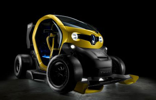 Renault Twizy RS (frontal)