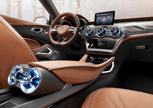 Mercedes-Benz GLA (interior)