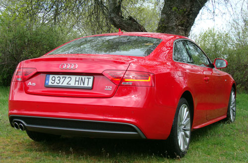 Audi A5 2.0 TDI S Tronic Quattro (trasera)