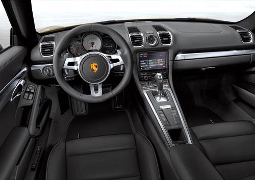 Porsche Cayman (interior)