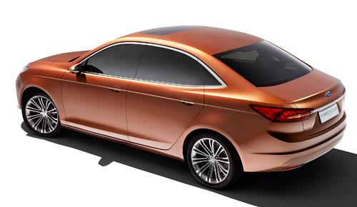 Ford Escort Concept (trasera)
