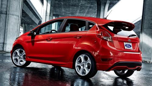 Ford Fiesta ST (trasera)