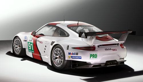 Porsche 911 RSR Lemans (trasera)