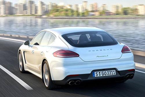 Porsche Panamera (trasera)
