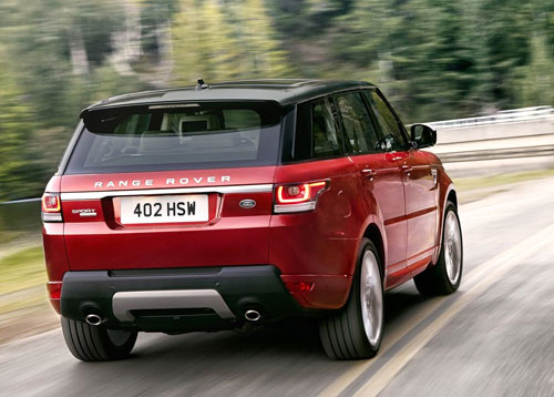 Range Rover Sport (trasera)