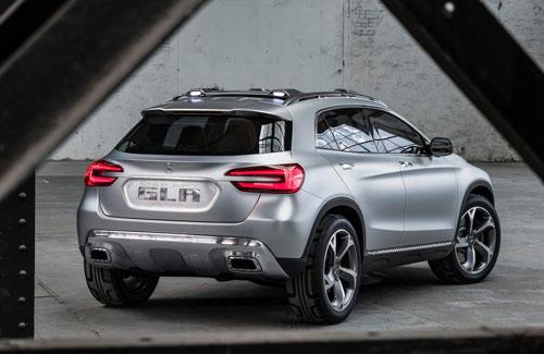 Mercedes-Benz GLA (trasera)