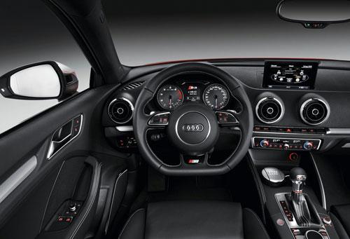 Audi S3 (interior)
