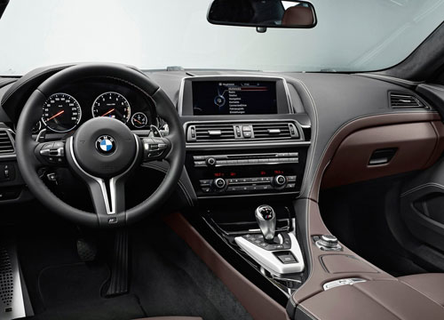 BMW M6 Gran Coupé (interior)