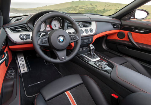 BMW Z4 (interior)