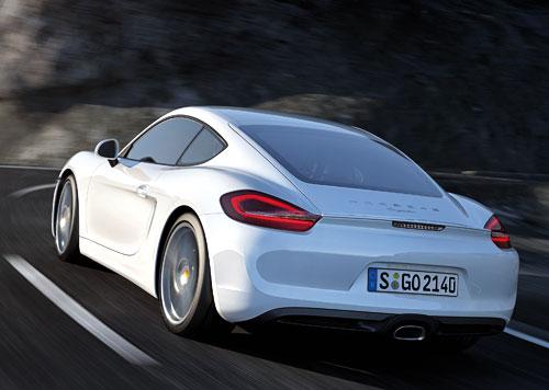 Porsche Cayman (trasera)