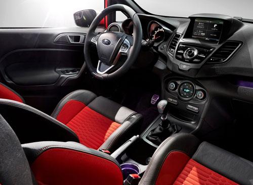 Ford Fiesta ST (interior)