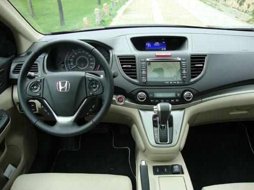 Honda CR-V (interior)