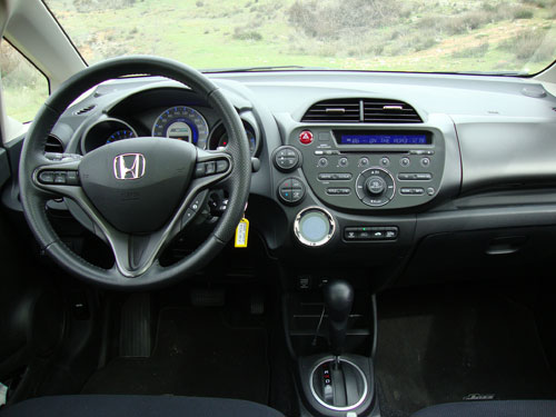 Honda Jazz (interior)