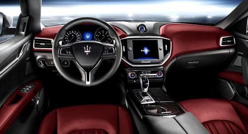 Maserati Ghibli (interior)
