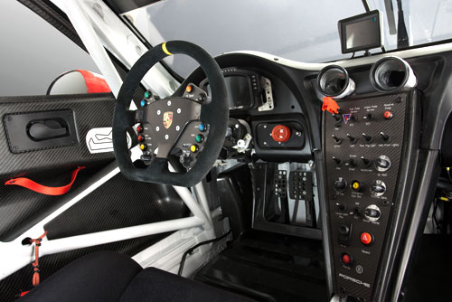 Porsche 911 RSR Lemans (interior)