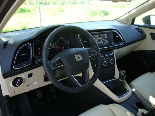 Seat Leon (interior)