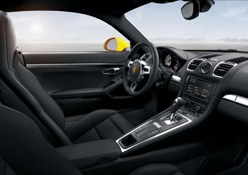 Porsche Cayman S (interior)