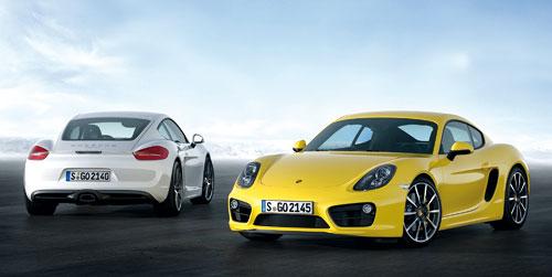 Porsche Cayman y Cayman S