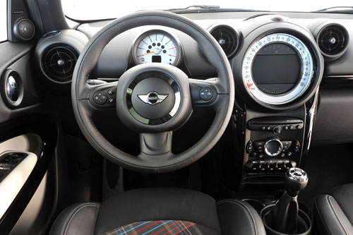 Mini Paceman (interior)