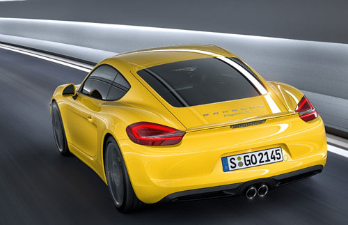Porsche Cayman S (trasera)