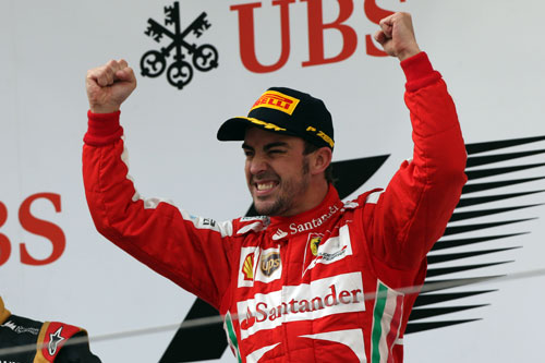 Alonso F1 China
