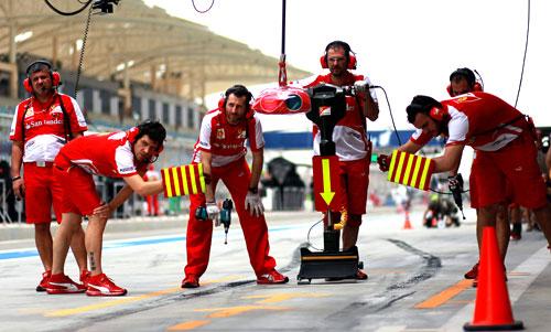 Box Ferrari Bahrein