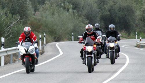Control DGT motos