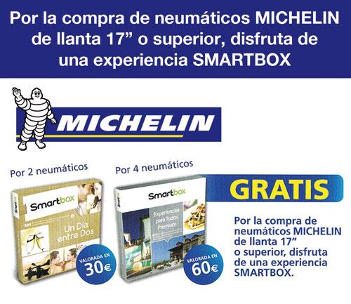 Oferta neumáticos Michelin