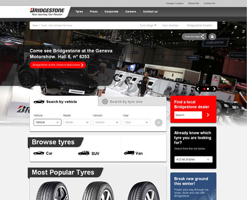 Web Bridgestone