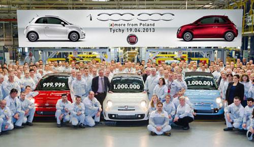 Un millón de Fiat 500