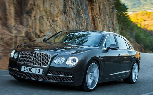 Bentley Flying Spur (frontal)