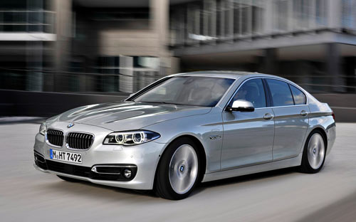 BMW Serie 5 (frontal)