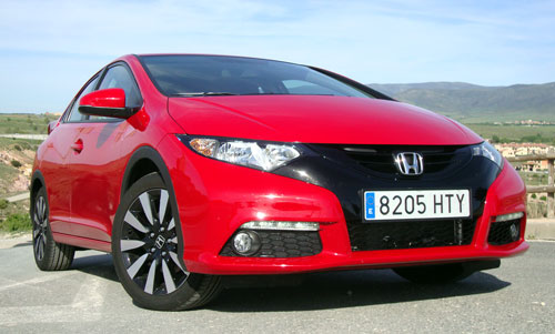Honda Civic (frontal)
