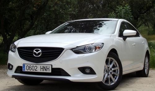 Mazda 6 (frontal)
