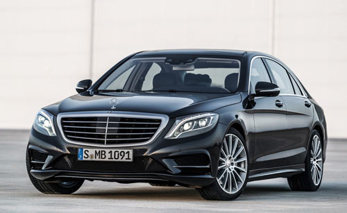Mercedes-Benz Clase S (frontal)