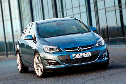 Opel Astra (frontal)